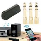 3.5mm USB Bluetooth Aux Stereo Wireless Audio Music Car Adapter Receiver new