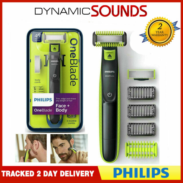 Philips OneBlade Face + Body Electric Trimmer for sale online | eBay