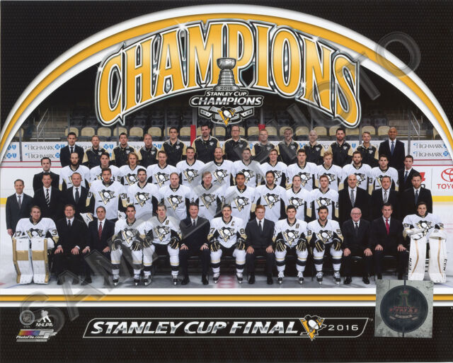 0dd1fb901d83b 16x20 Pittsburgh Penguins 2016 Stanley Cup Champions Formal Sitdown Team  Photo