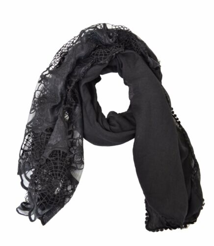 Lace Embroidered Womens Fashion Scarf