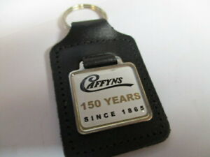 Caffyns-150-years-leather-keyring-Superb-condition-free-post