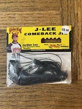 Strike King Jlcj12-277 J-lee Comeback Jig 1//2 Oz Black//brown 1pk for sale online