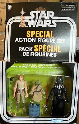 """Star Wars Vintage Collection Darth Vader Cave Of Evil 3.75"""" Figure ESB New"""