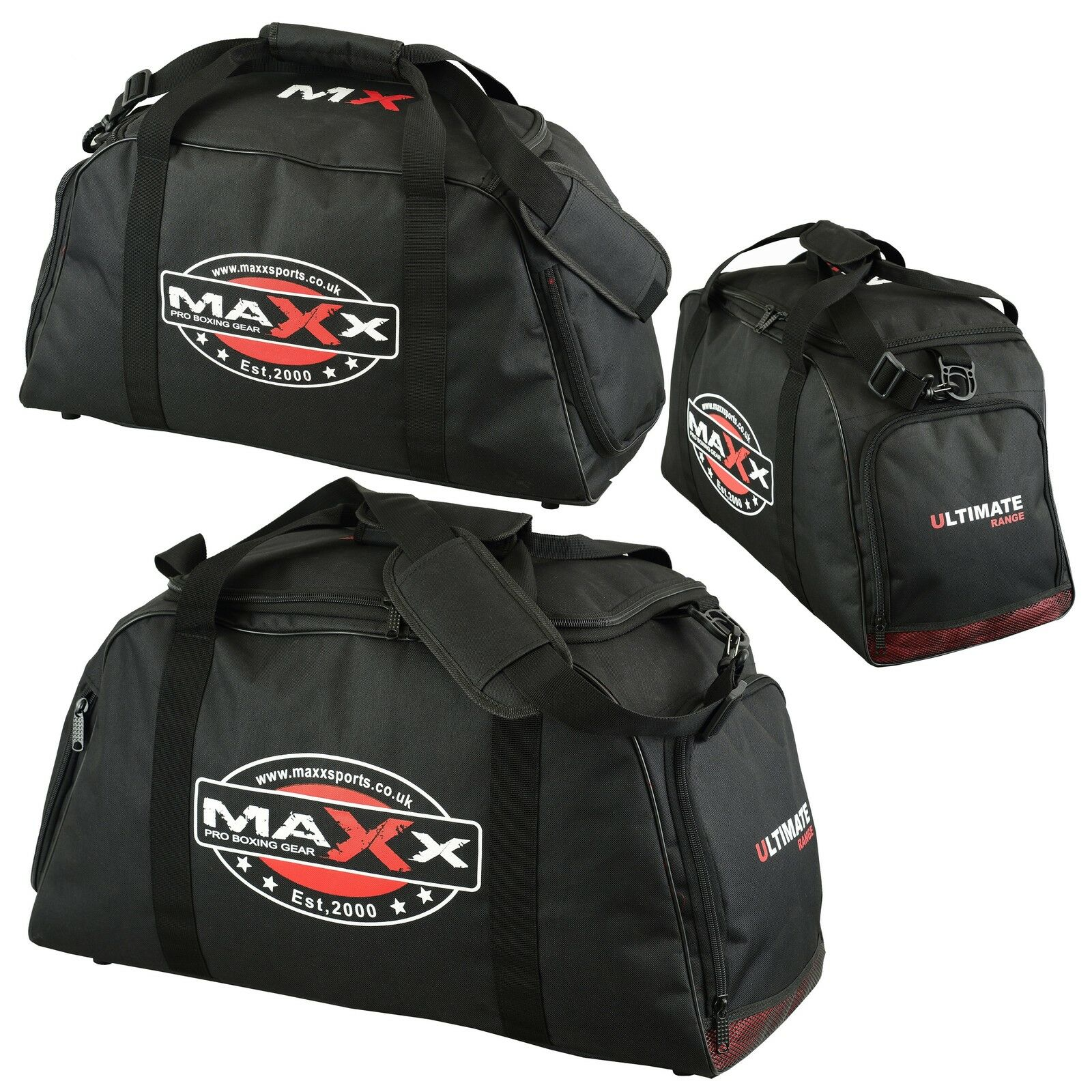 Gym Bag And Backpack: Maxx Gym Holdall Gear Bag Backpack Duffle Kit Sports MMA