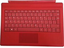 "Microsoft Surface Pro 3 & Pro 4 Red Type Cover Keyboard 12"" Tablet US / Canada"