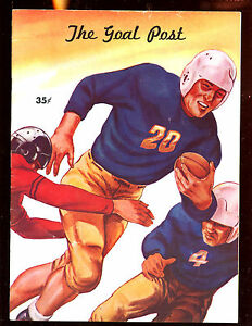 October 23 1948 NCAA Football Program Oregon State vs California EX