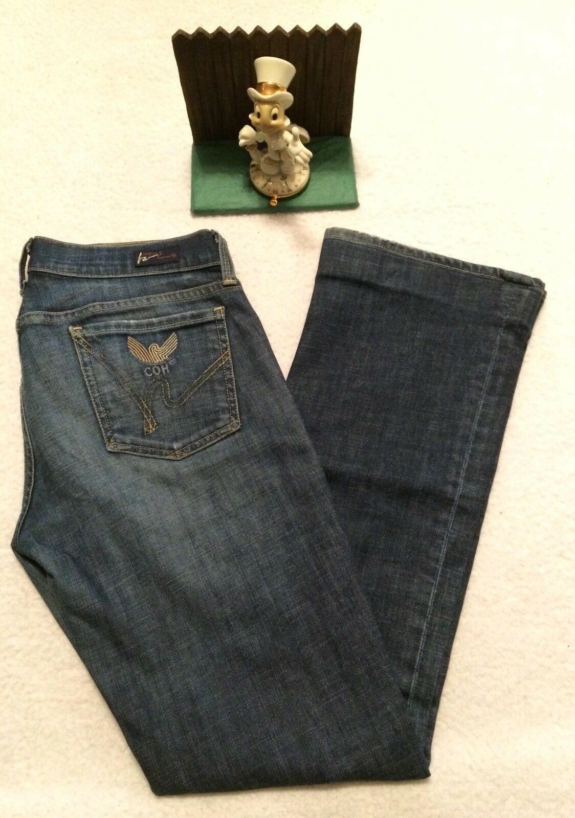 Citizens Of Humanity Straight Leg Medium Wash Jeans, Mid-rise, Size 27. NICE