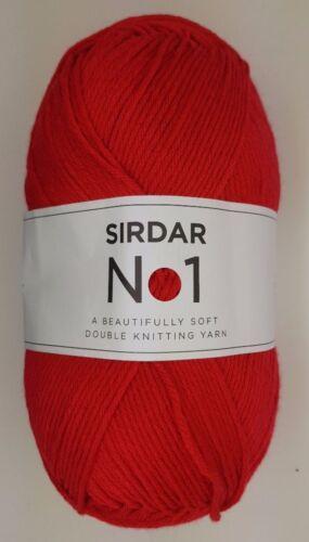 Sirdar No.1 Dk 100g Garn Alle Farben