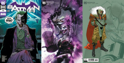 BATMAN #93 PUNCHLINE MAIN COVER VARIANT FRANCESCO MATTINA DC 2020 U PICK!