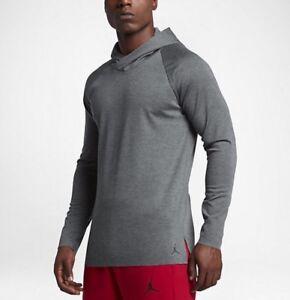 1441ab62d48 Nike Jordan 23 Lux Raglan Hooded Men's Long Sleeve Top - 834541 071 ...