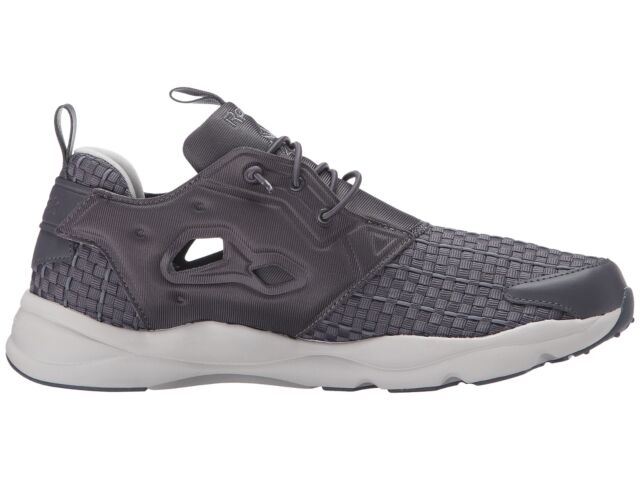 0cdc90d5d9f4 NEW Mens Reebok Furylite New Woven Shoes in Ash Grey   Shark AR3446 sz 9.5