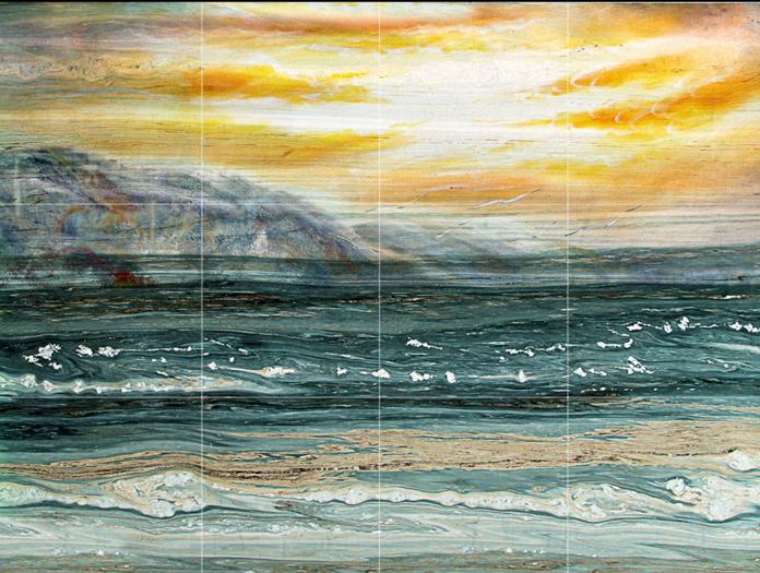 Papel Pintado Mural Amanecer De Vellón Amanecer Mural Playa De Textura 2 Paisaje Fondo Pantalla ab7947