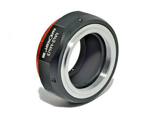 K-amp-F-Concept-Lens-Adapter-M42-Micro-4-3-Mount-Pro-Adapter-M42-Lens-M4-3-Body