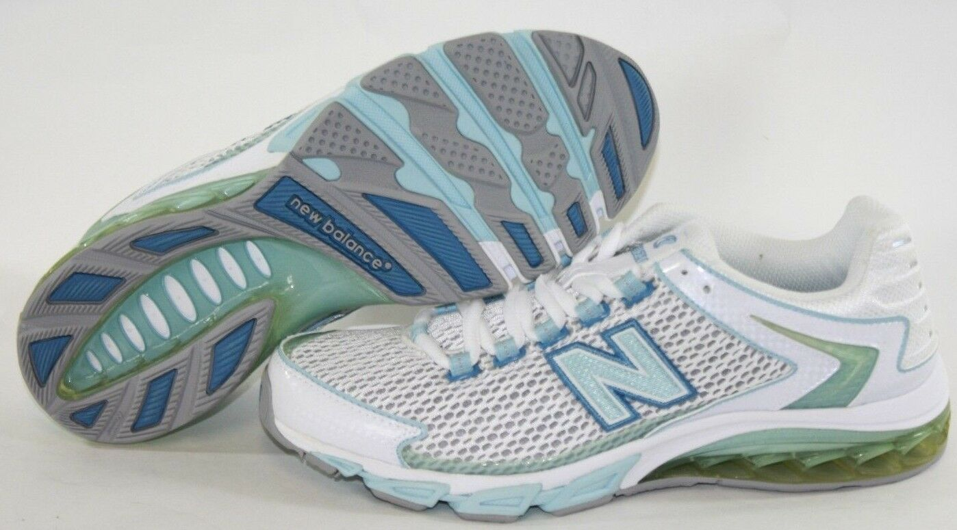 NEW Womens Size Size Womens 7 NEW BALANCE 8510 WB White Light Blue Running Sneakers Shoes 5e60d6