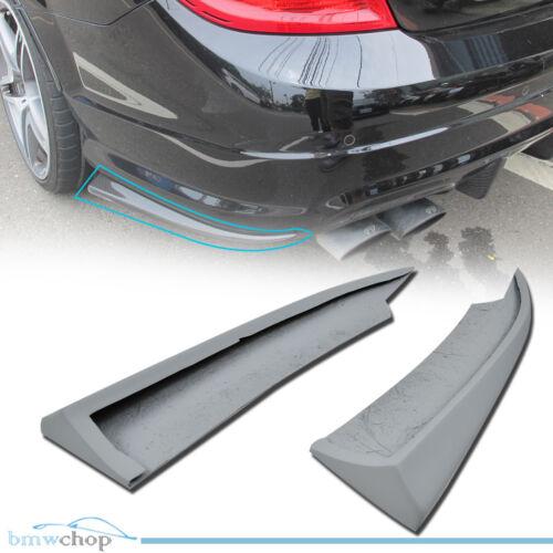 Primer For Mercedes Benz W204 Facelift LCI Rear Bumper Splitter Extensions