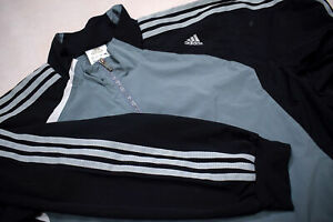 Adidas-Trainings-Jacke-Sport-Jacket-Track-Top-Soccer-Jumper-Mesh-Casual-Grau-M