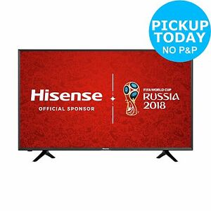 Hisense H43N5300 43 Inch LED 4K Ultra HD Smart TV. From the Argos Shop on ebay