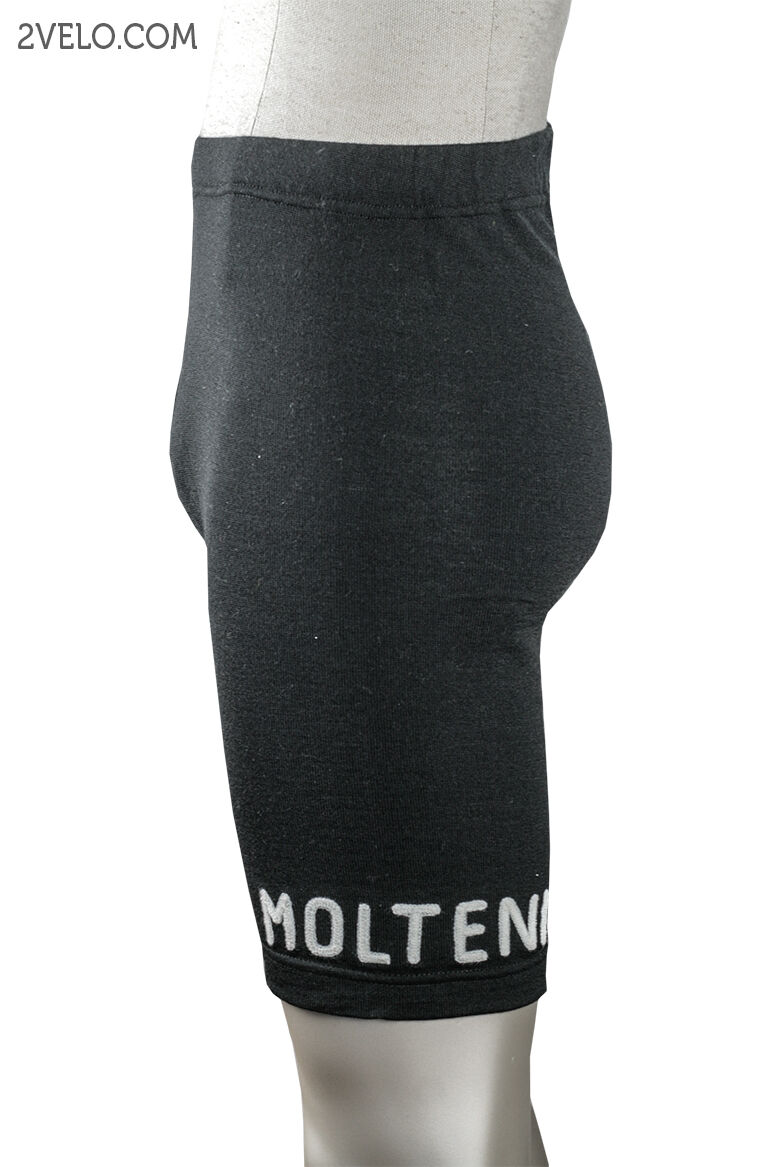 Vintage style Molteni cycling cycling Molteni shorts - merino wool, Leder pad L Größe 1ad371