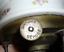 thumbnail 11 - 1800s Antique Plate Warmer Marque Depose Old Porcelain Brass Oil Kerosene Floral