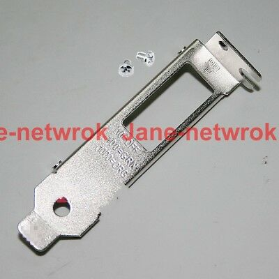 LOW PROFILE BRACKET FACE PLATE for HP NC361T DELL 7MJH5 IBM 49Y4230 49Y4232