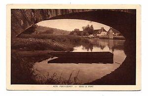39-cpa-FORT-LESNEY-Sous-le-pont-C2279