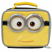 Despicable Me Minions Lunch Box Kit Insulated Minion School Bag