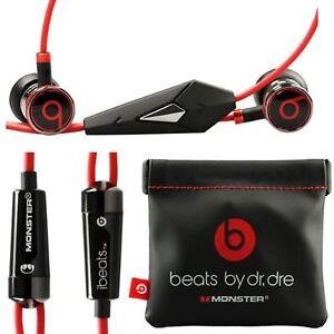 USA-SELLER-Original-Beats-by-Dre-iBeats-In-Ear-Headphones-Earphones-BLACK-Bulk
