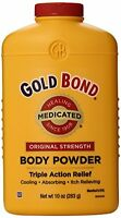 5 Pack - Gold Bond Body Powder Medicated 10 Oz Each on sale