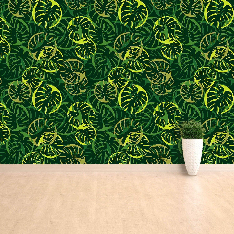 Fototapete Selbstklebend Einfach ablösbar Mehrfach klebbar Dekorative Blätter