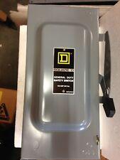 Square D Du323 General Duty Safety Switch 100 Amp 240 Volt 3 Phase Wop2