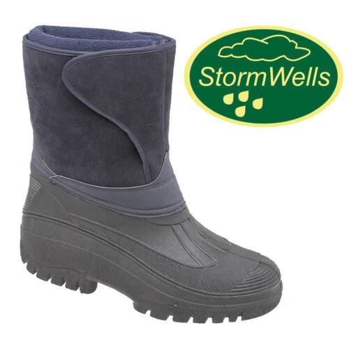 Stormwells Wellington Boots Alpine Thermal Water Resistant Fleece Lined Wellies