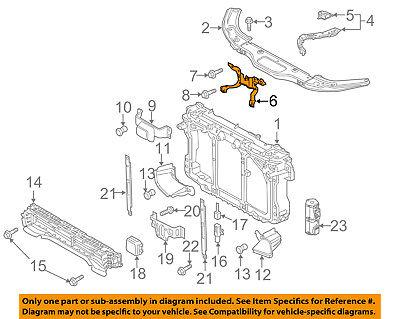 PORSCHE OEM Radiator Core Support-Center Hood Lock Latch Support 95850579901