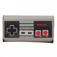 Classic Nintendo Controller Flap Wallet Retro Nes System Officially Licensed