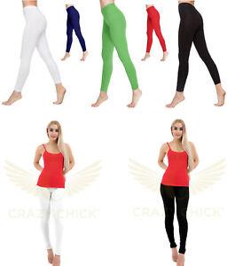 Rational Ladies Full Length Cotton Leggings Womens Dance Wear Fancy Performance Stretch
