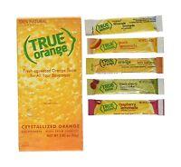 True Orange Dispenser Pack 100ct. Plus 5 Lemonade Sticks Of Tru... Free Shipping