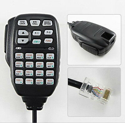 HM-133V DTMF CAR Microphone For ICOM IC-2800H IC-2820H IC-E2820 IC-208H Radio