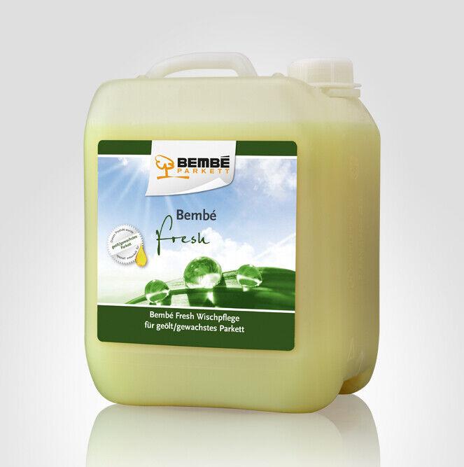 (9.30 EUR Liter) Bembé FRESH Parkettpflege für geöltes gewachstes Parkett 5 Lit