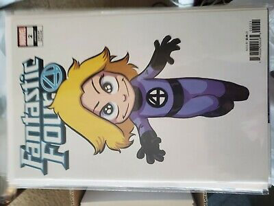 Fantastic Four #1 Cover D Variant Skottie Young Baby Cover