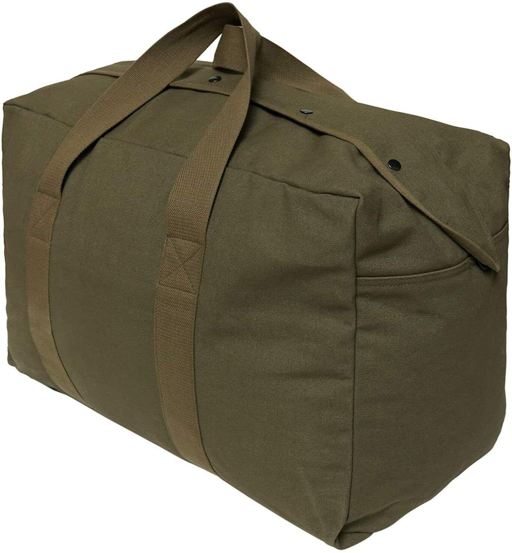 Canvas Duffel Bag | Parachute Bag Canvas| Tactical, Travel & Outdoors - s l1600