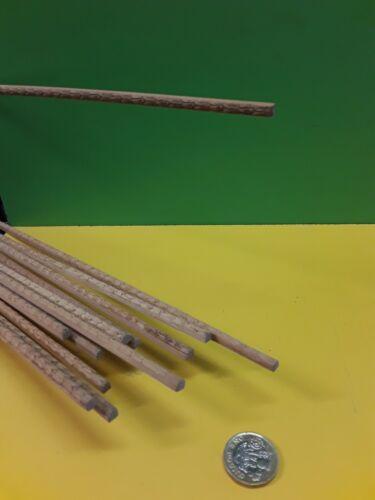 10 Lengths 900mm X 5mm X 4mm Light hardwood Embossed Moulding