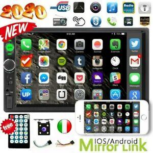 7-034-Car-Stereo-Radio-Autoradio-2-DIN-Bluetooth-Touch-Screen-MP5-MP3-Player-USB-FM