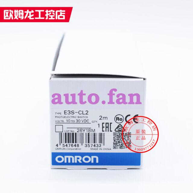 1 Pcs Nouveau OMRON E3S-CL2 photoélectrique Commutateur Détecteur 10 To 30VDC 2 m