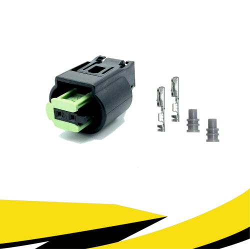 61138365340//968405-1 para bmw MQS Crimp contacto Conector 2-polos reparac