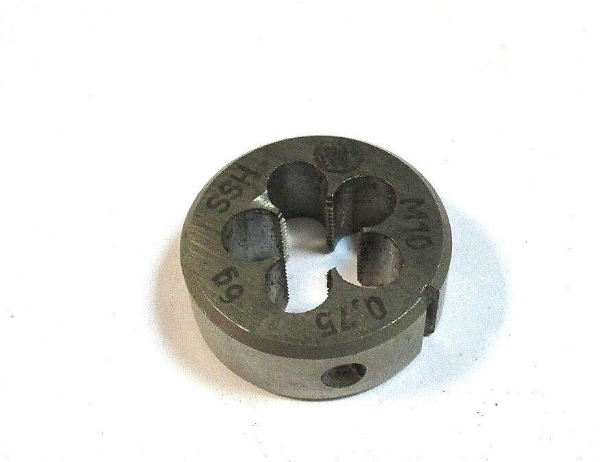 BGS Gewindeschneideisen M10 x 1,0 x 25 mm 1900-M10X1.0-S
