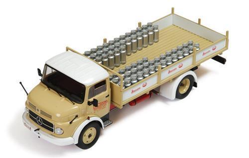 IXO MERCEDES BENZ 1113 camion lacsoons stassano lait année 1967, 1 43