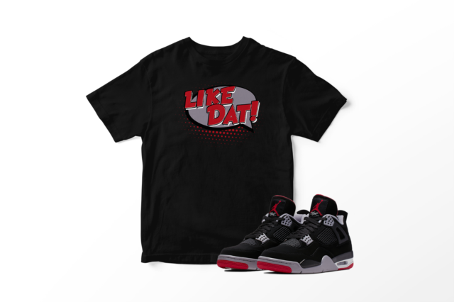 T Shirt To match AIR JORDAN 8 ALTERNATE BRED Shoe Men/'s Tee Shirt Graphic Tee