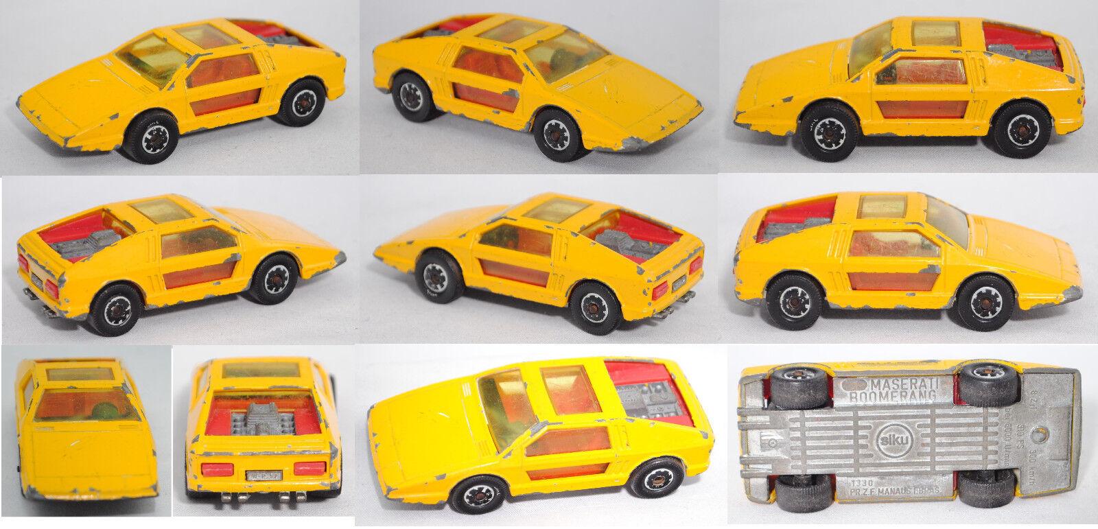 Siku Super Super Super 1330 Maserati Boomerang, Bpr. PR.Z.F.MANAUS I.BRAS., Siku Brasilien a7cc0c