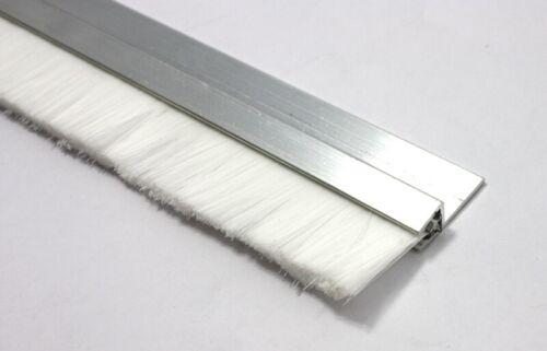 1 m Bandes brosse h5 50 mm Fibre Couleur Blanc Brosses joint Alu Profil türbürste