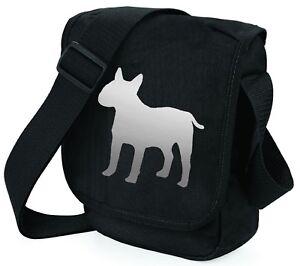 English-Bull-Terrier-Bag-Metallic-Gold-Silver-on-Black-Bags-Birthday-Xmas-Gift