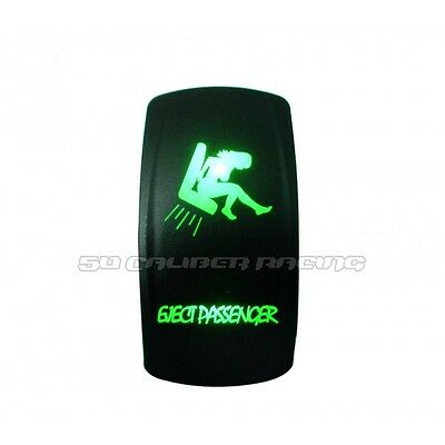 Funny Saying Green Eject Button Power Fog Switch Show Truck Race Car Hot Rod Mud